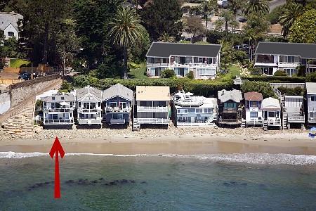 Beach house montecito house rental casita la concha on left miramar beach publicscrutiny Choice Image